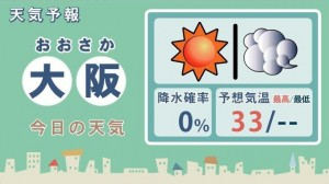 天気・大阪