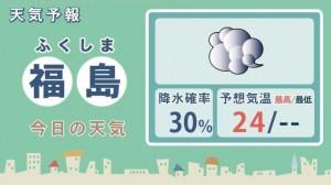 天気・福島